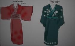 Inventer des habits japonais traditionnels originaux