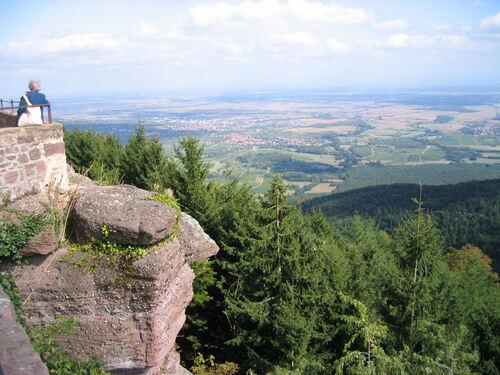 Le Mont Sainte Odile
