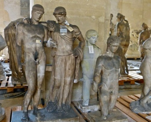Galerie Moulages Versailles Electre Oreste