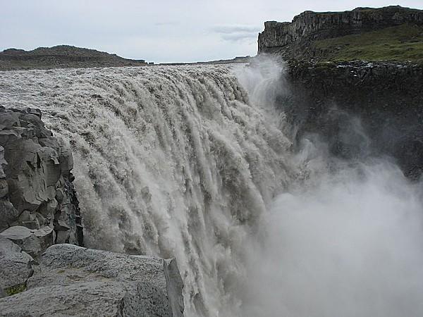 Dettifoss, la cascade la plus puissante d'Europe