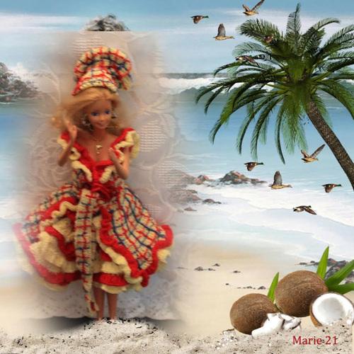 Poupées Créations 2016: Couleurs Caraïbes (4)