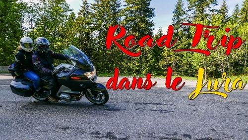 Une balade moto  dans le Jura