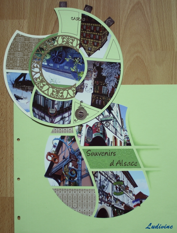 Pages de scrap, gabarit Eclipse -4