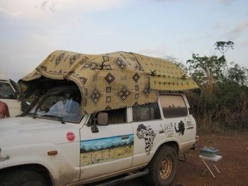Togo ciel orageux prévision de pluie nous sommes prêts