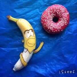 La banane peut-être une oeuvre d'art éphémère !!!