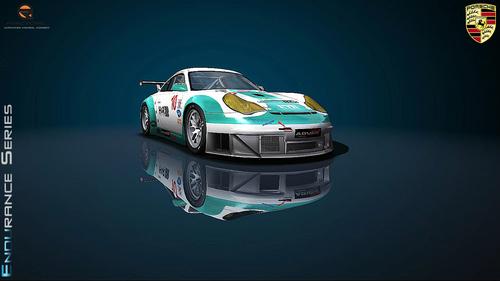 Team Konrad Motorsports Porsche 996RSR - ALMS 2007