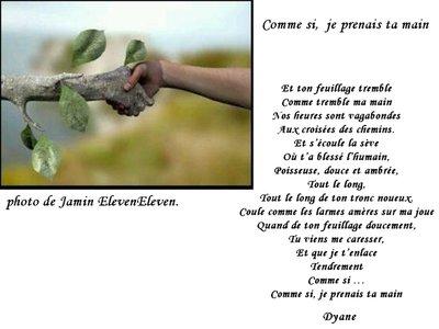 Blog de dyane :Traces de Vie, Comme si, je prenais ta main