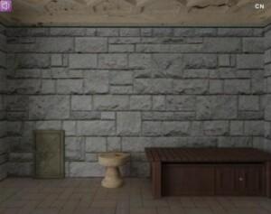 Mystery stone room escape