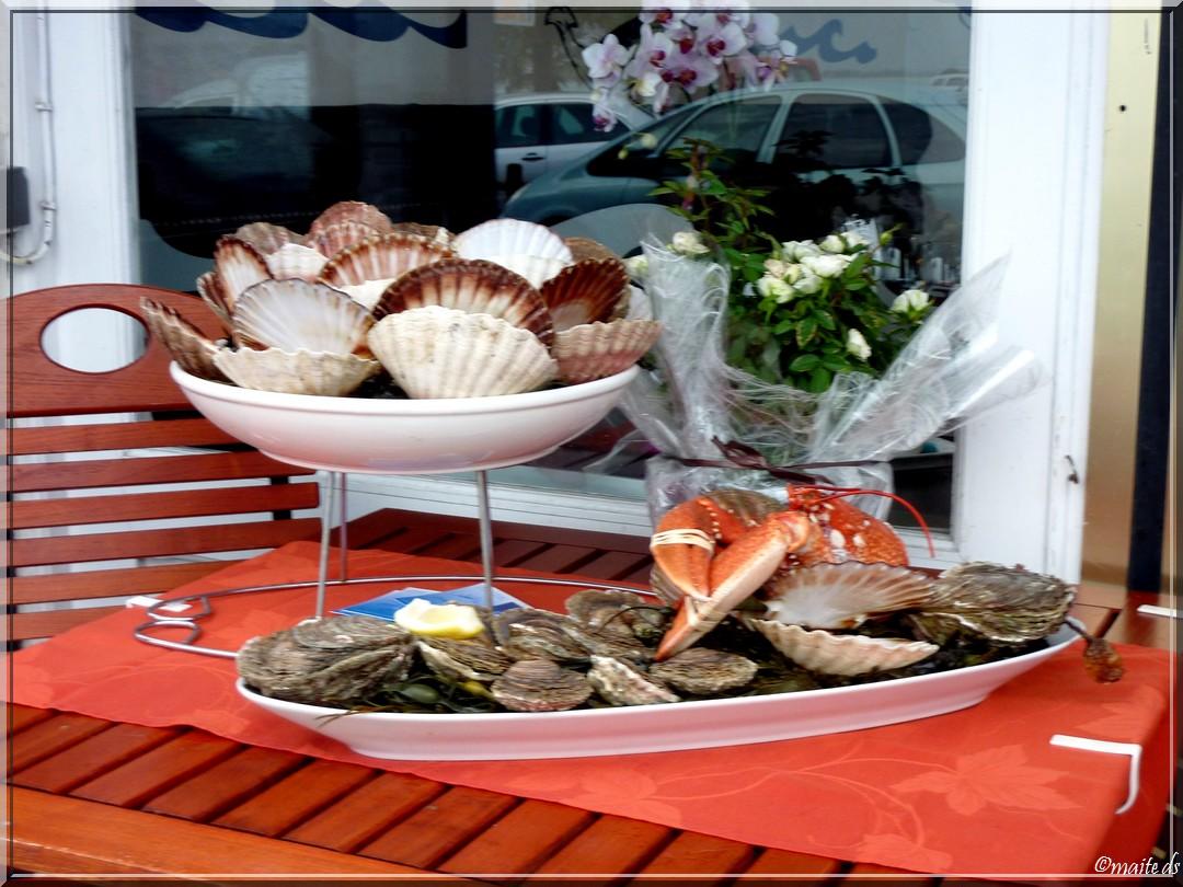 Fruits de mer - Cancale - Île-et-Vilaine - 14-10-2013