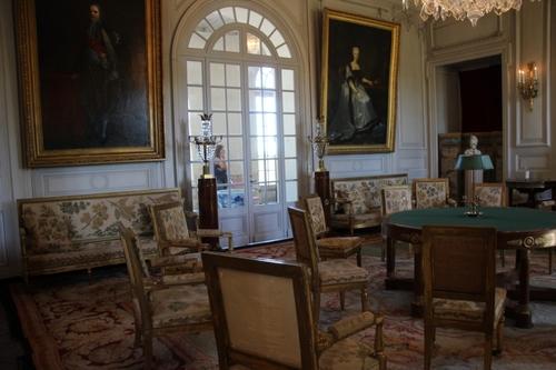 Le château de Valençay, intérieur