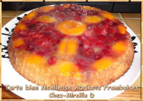 """Tarte Moelleuse aux Fruits """"Été Hiver"""""""