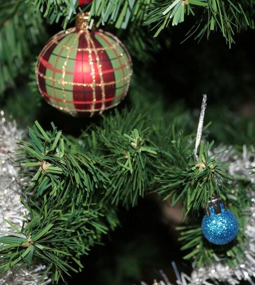Les boules ded Noël
