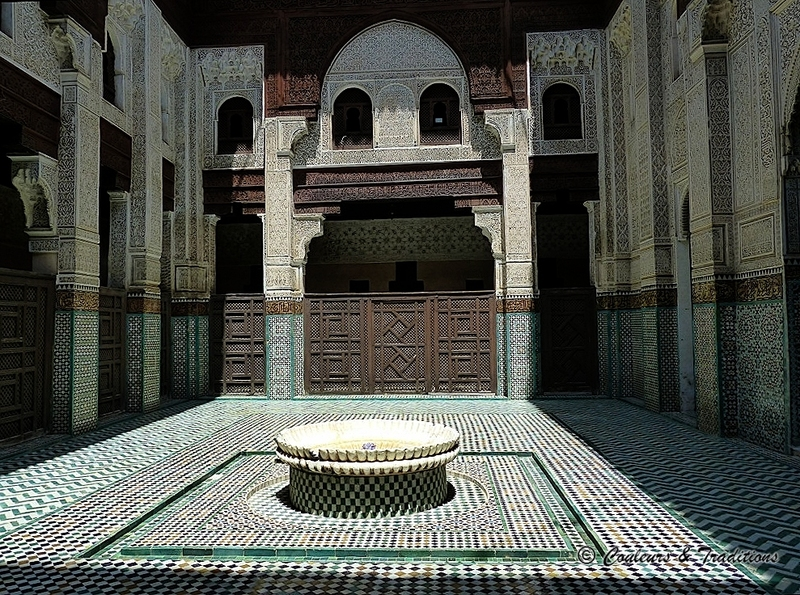 La médersa al Jadida - Bou Inania