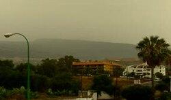 Puerto de La Cruz ... il ne fait pas toujours beau !