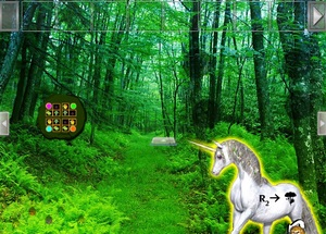 Jouer à Unicorn fantasy forest escape