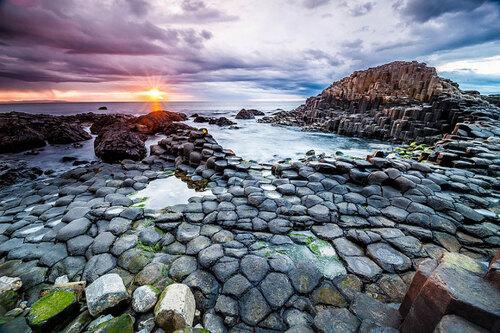 Patrimoine mondial de l'Unesco : La chaussée des Géants - Irlande du Nord