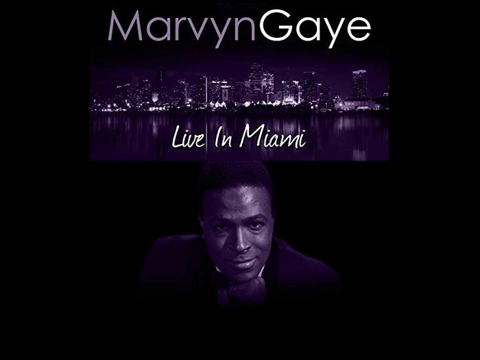 """Marvin Gaye : CD """" Live In Miami """" RMP Global Ltd None [ US ]"""