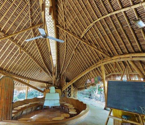 L'école la plus écologique du monde