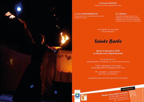 4 décembre - Sainte Barbe - Musée-mine départemental