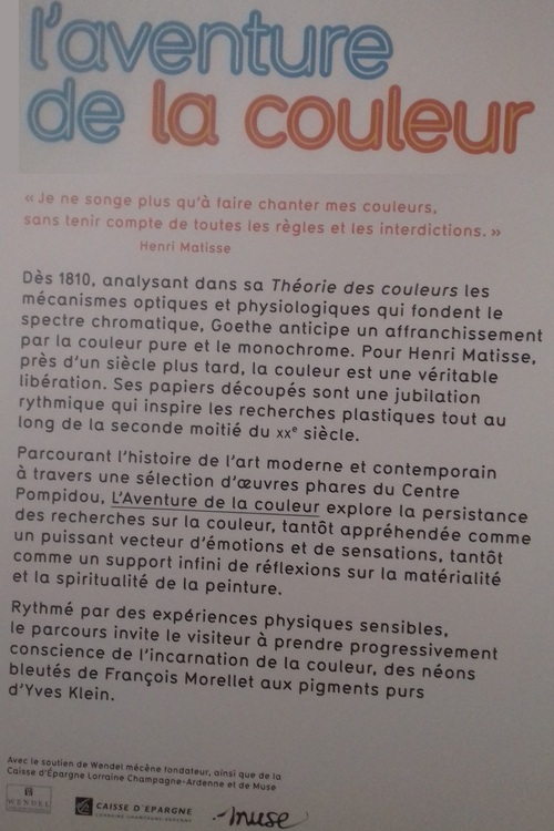 Avril 2018 Expo couleur