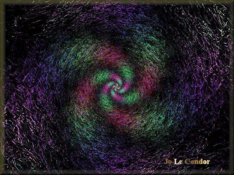 La création.....En fractales
