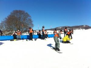 Sortie ski Plans d'Hotonnes