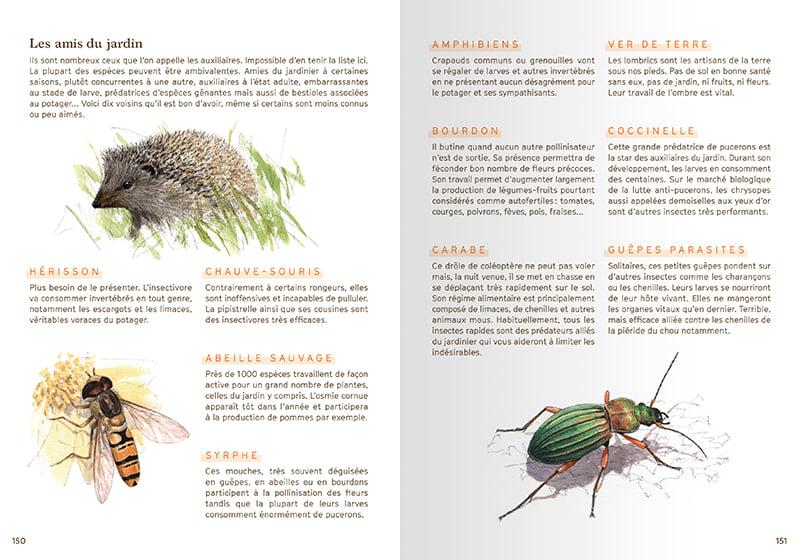 Agenda de la nature au jardin 2022