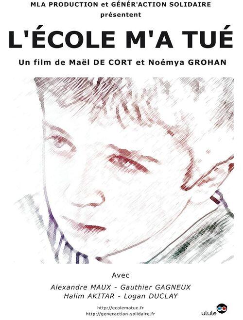 L'école m'a tué - Avant Première au cinéma Gaumont de l'Aqua Boulevard à Paris