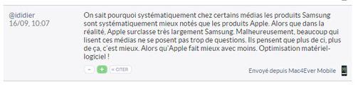 """Fans Apple contre fans Samsung : la """"guerre"""" des nuls..."""