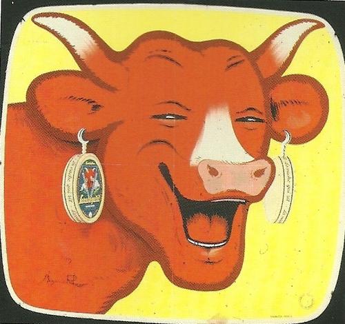 La célèbre vache....