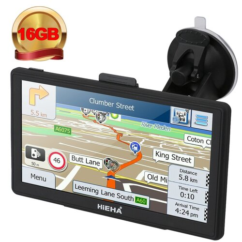 Hieha® GPS Auto Voiture ou Camion Android