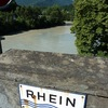 Premier pont sur le Rhin