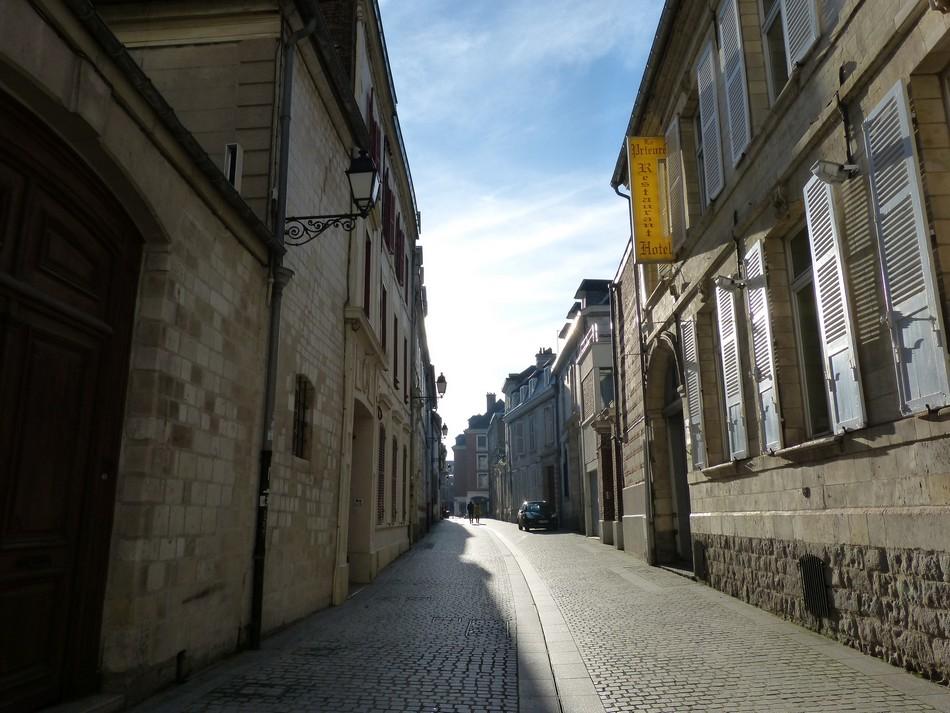 Les rues que j'emprunte ...
