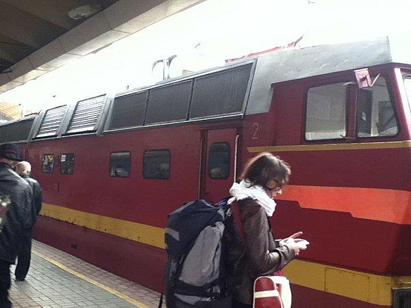 Moscou arrivée Claire