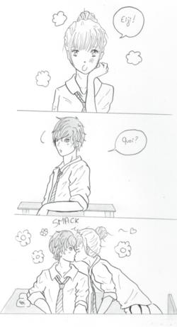 Aiko et Eiji en cours...
