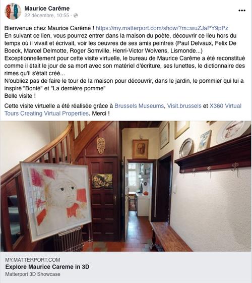 VISITE VIRTUELLE de la Maison Musée