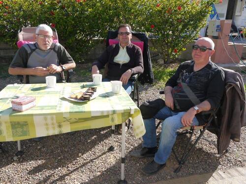 Avec Lio et Jean Claude