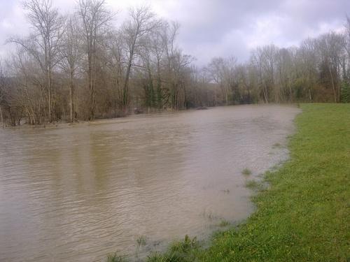 La crue de notre rivière