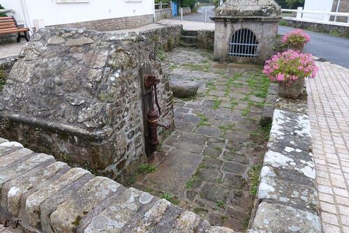 Les lavoirs de Port Navalo .