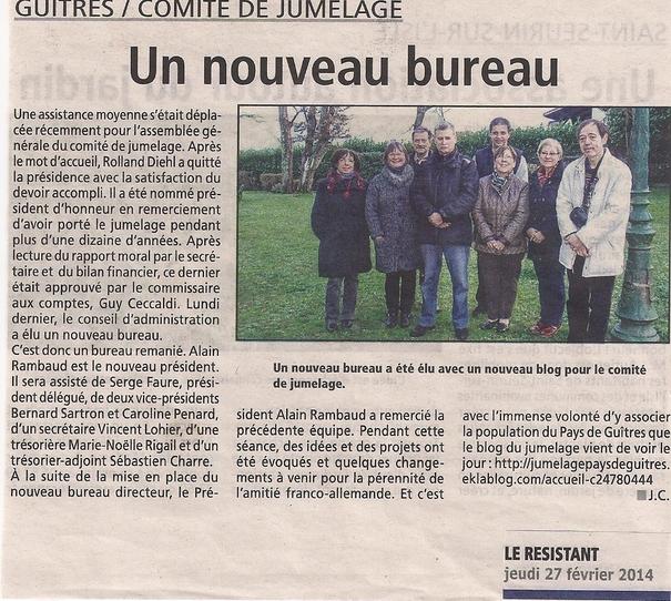 """Journal """"Le Résistant"""" du"""
