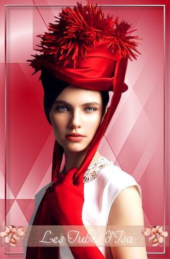 FAC0029 - Tube femme chapeau
