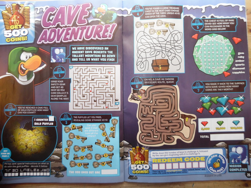Club Penguin MAGAZINE #41 / MARS 2015