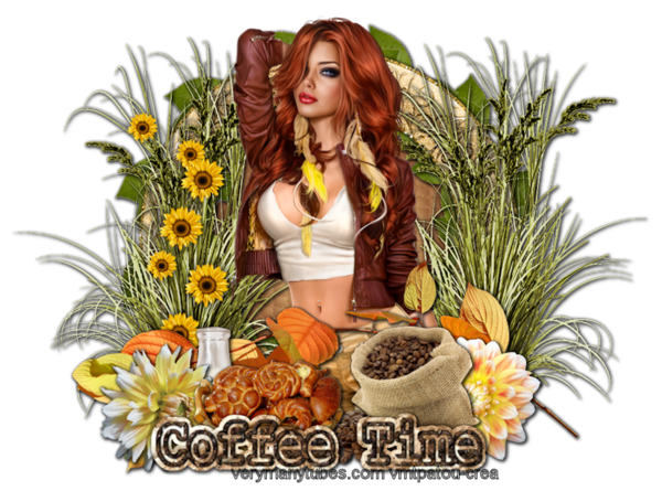 Tutoriel Automne - Coffee Time