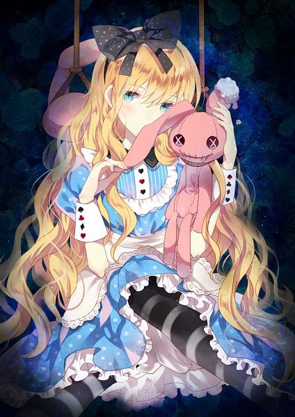 Image de anime and alice in wonderland
