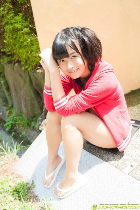 WEB Gravure : ( [DGC] - | 2016.01 | Haruka Momokawa/百川晴香 : 『ウルトラマンX』のルイ役で大ブレイク! )