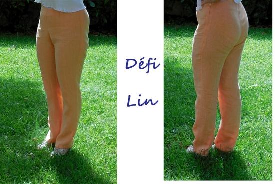 Mon pantalon défi lin