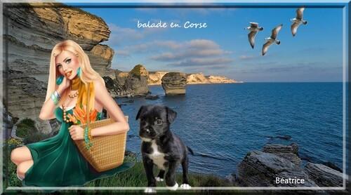 défi Kalyona ''contemplation'' Défi Mary-Poppins''Balade en Corse''