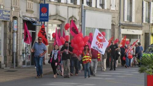 journée d'actions du 5/07 pour le retrait de la loi Travai-compte-rendu vu par la PQR (OF & LT)