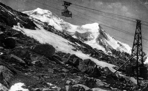 Gare des glaciers 1910-2018
