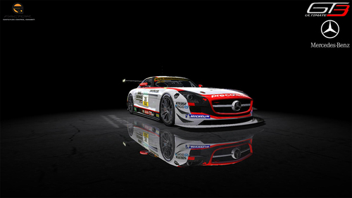 Team Black Falcon Mercedes SLS AMG GT3